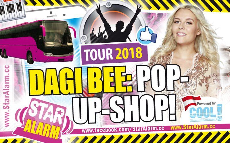 Dagi Bee Youtube Queen Mit Eigenem Pop Up Store Auf Tour Alle